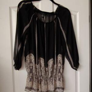 Ladies INC sheer blouse size 16